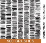vector large set of 500... | Shutterstock .eps vector #403250803