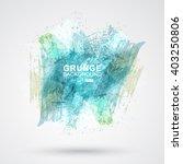 vector figured brush strokes... | Shutterstock .eps vector #403250806