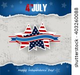background for independence day ... | Shutterstock .eps vector #403260088