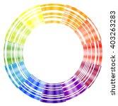 radial spectrum background | Shutterstock .eps vector #403263283