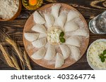 Raw Dumplings With Cottage...