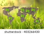 earth day. concept ecology.... | Shutterstock . vector #403266430