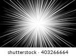 comic black radial lines...   Shutterstock .eps vector #403266664