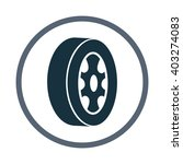 wheel icon   Shutterstock .eps vector #403274083
