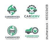 car service garage logo  shop... | Shutterstock .eps vector #403323658