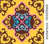 vector seamless pattern ethnic... | Shutterstock .eps vector #403339660