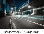 city road viaduct streetscape... | Shutterstock . vector #403353034
