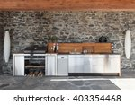 House  Modern Kitchen With...