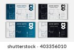 business card for an architect | Shutterstock .eps vector #403356010