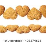 ornamental line made of heart... | Shutterstock . vector #403374616