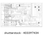 schematic diagram  power supply ... | Shutterstock .eps vector #403397434