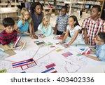 academic school children... | Shutterstock . vector #403402336