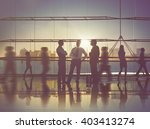 business people meeting... | Shutterstock . vector #403413274
