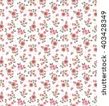 cute pattern in small flower.... | Shutterstock .eps vector #403428349
