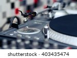 professional turntable record... | Shutterstock . vector #403435474
