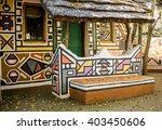 Roundavel In Ethnic Ndebele...