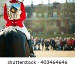 Horse Guards Parade  London  Uk....