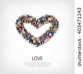 love people crowd   Shutterstock .eps vector #403471243