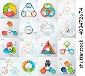 big set of vector triangles ... | Shutterstock .eps vector #403472674