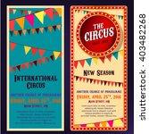 circus banners 04 b | Shutterstock .eps vector #403482268
