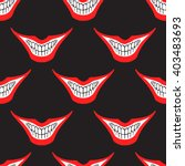 evil clown or playing card... | Shutterstock .eps vector #403483693