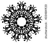 round pattern. circular... | Shutterstock .eps vector #403484920