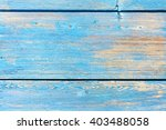 Shabby Light Blue Wood Texture...