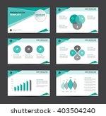 green business presentation... | Shutterstock .eps vector #403504240