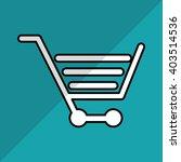 shopping cart design   vector... | Shutterstock .eps vector #403514536