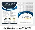 brochure template flyer design...   Shutterstock .eps vector #403534780