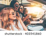 just keep driving  side view of ... | Shutterstock . vector #403541860