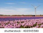 Wind Turbines Producing...