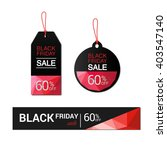black friday sales tag  sale ... | Shutterstock .eps vector #403547140