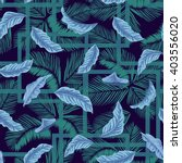 seamless pattern with flying... | Shutterstock .eps vector #403556020
