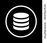 data icon | Shutterstock .eps vector #403561924