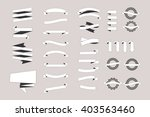 a set of new and original of... | Shutterstock .eps vector #403563460