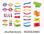 a set of new and original of... | Shutterstock .eps vector #403563484