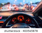 car console  waiting in a...   Shutterstock . vector #403565878