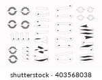 a set of new and original of... | Shutterstock .eps vector #403568038