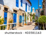 genethliou mitellla street  a... | Shutterstock . vector #403581163