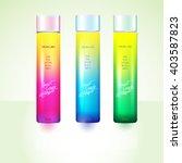 package design template bottles ... | Shutterstock .eps vector #403587823
