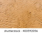 Texture Of Sandy Beach At Low...