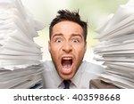 emotional stress. | Shutterstock . vector #403598668