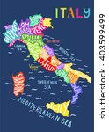 italy regions map   unique... | Shutterstock .eps vector #403599499