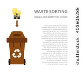 Lamp And Battery Waste Sorting...