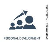personal development icon  | Shutterstock .eps vector #403608358