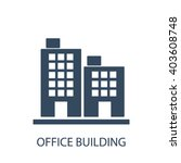 office building icon  | Shutterstock .eps vector #403608748