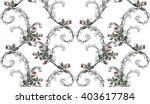Vintage Pattern In Baroque...