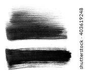 black abstract watercolor macro ...   Shutterstock . vector #403619248