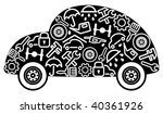 cars spare parts and service... | Shutterstock .eps vector #40361926